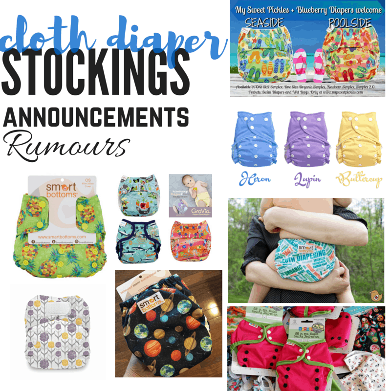 Cloth Diaper Release May 28
