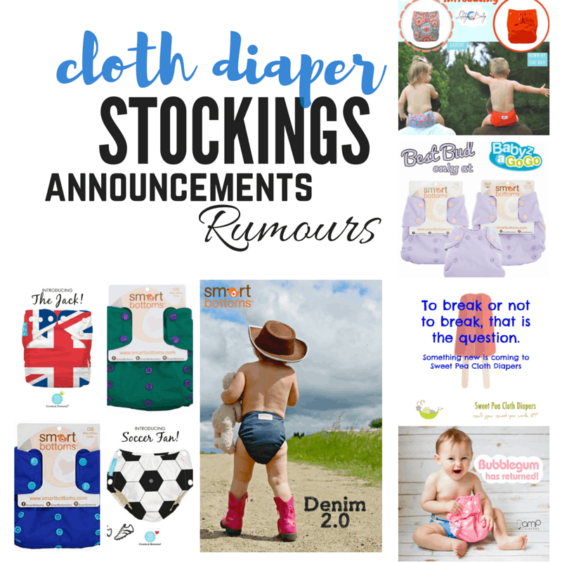 Weekly Cloth Diaper Releases, June 10, 2016