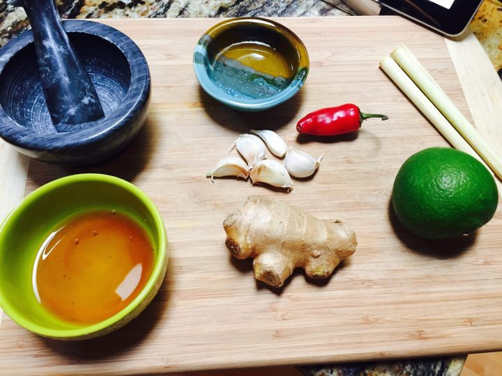 Ingredients for Paleo Sambal Oelek