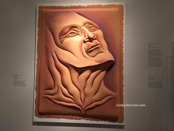 Woe Man I by Artist Judy Chicago