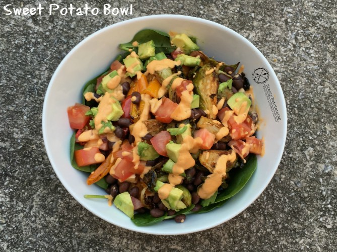Build a Sweet Potato Bowl