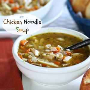 """Chicken Noodle Soup is known to cure what ails you. No """"spoonful of sugar"""" needed to help this soup go down. Simply Sated"""
