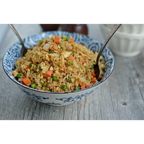 Medium Crop Of Steak Fried Rice