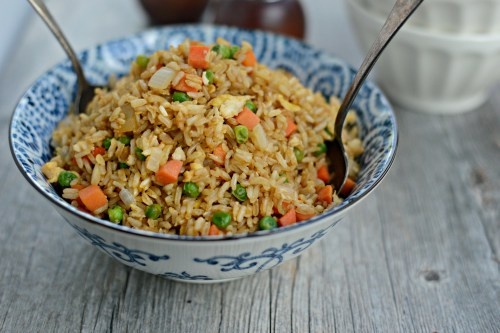 Medium Of Steak Fried Rice