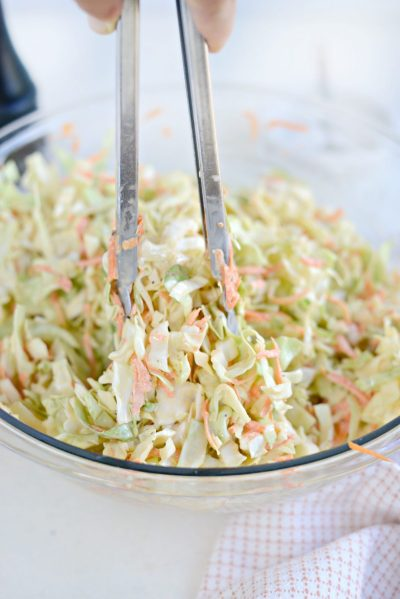 Simply Scratch Classic Coleslaw Recipe with Homemade Dressing - Simply Scratch