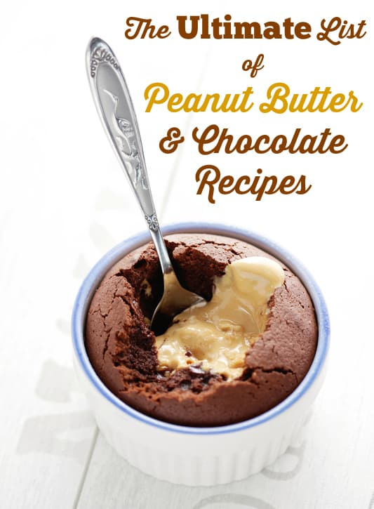 The Ultimate List of Peanut Butter & Chocolate Recipes