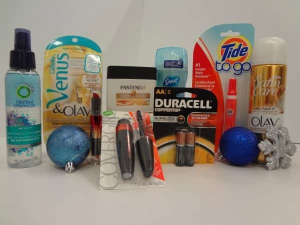 P&G Holiday Survival Kit