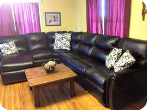 Live Life Comfortably with La-Z-Boy | Griffin Sectional Review