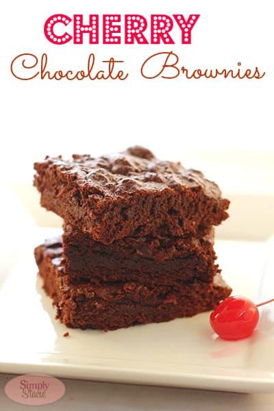 Cherry Chocolate Brownie