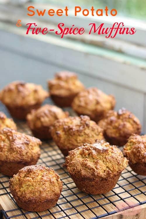 Sweet Potato & Five-Spice Muffins Recipe