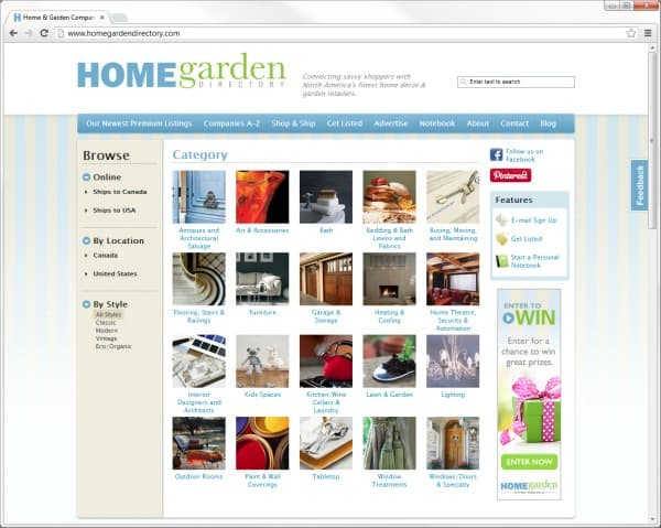 Home Garden Directory | Your Source for Decor, Design & Gardening