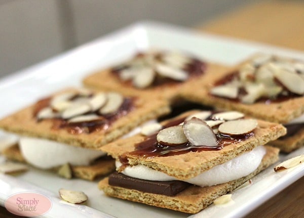 Chocolate Raspberry S'mores Recipe