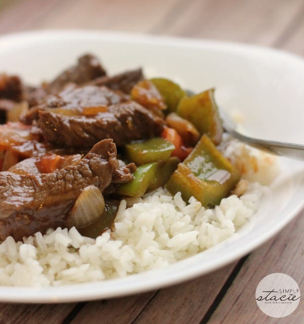 Simmered Asian BBQ Beef