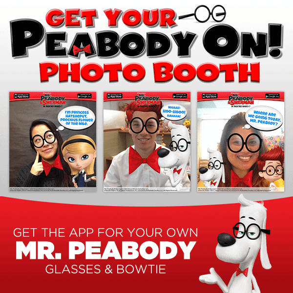 Mr. Peabody & Sherman Giveaway