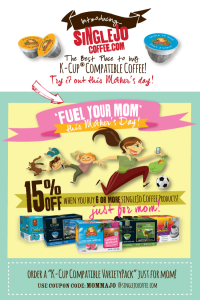 Fuel Your Mom this Mother's Day