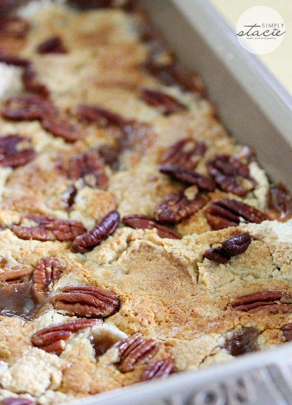 Apple Dump Cake With Nuts