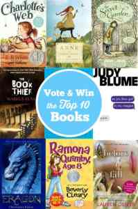 book collage vote