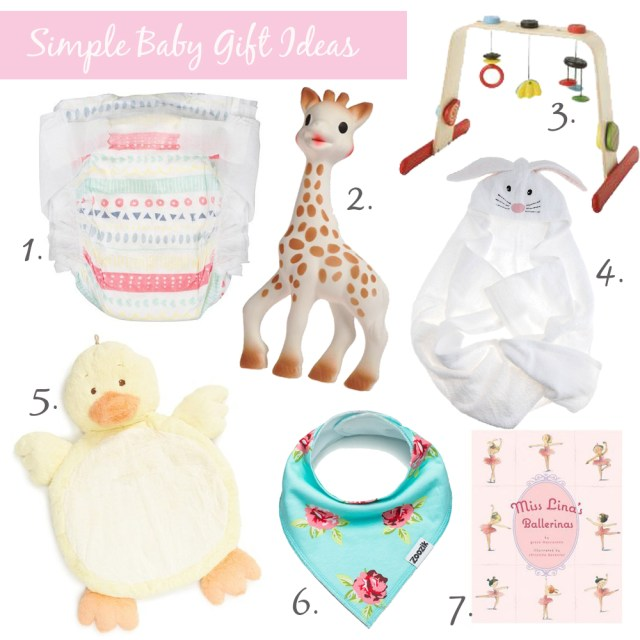 Simple Baby Gift Ideas
