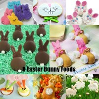 8 Easter Bunny Foods