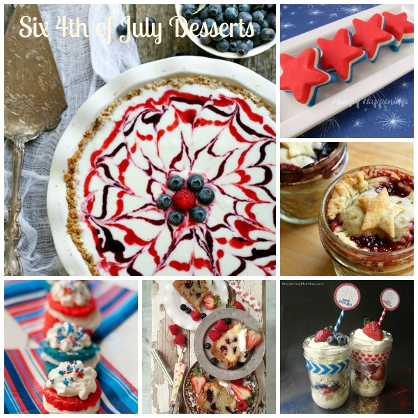 6 Forth of July Desserts
