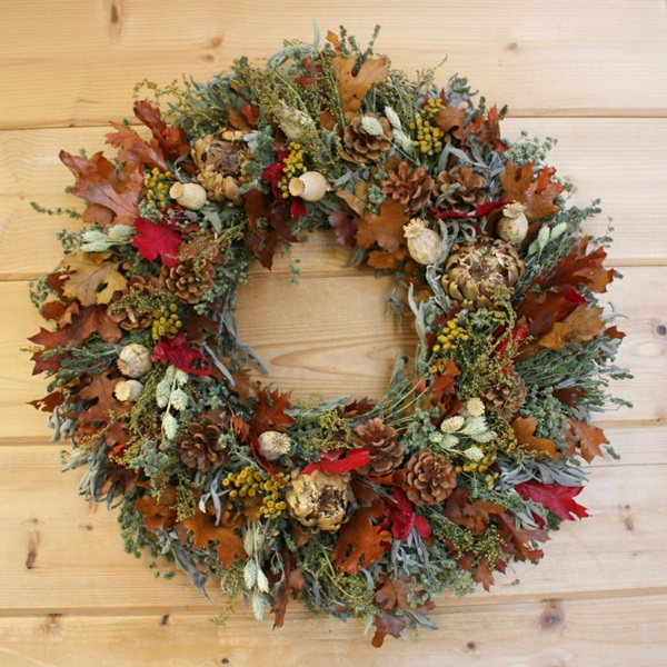 Fall abundant wreath review from creekside farms simply