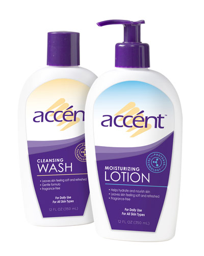 Accent Cleansing Wash & Lotion Review
