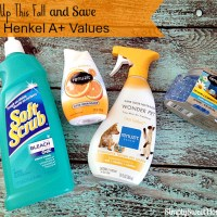 Clean Up This Fall and Save with Henkel A+ Values