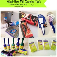 Must Have Fall Cleaning Tools - Review & Giveaway
