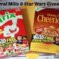 General Mills & Star Wars Giveaway