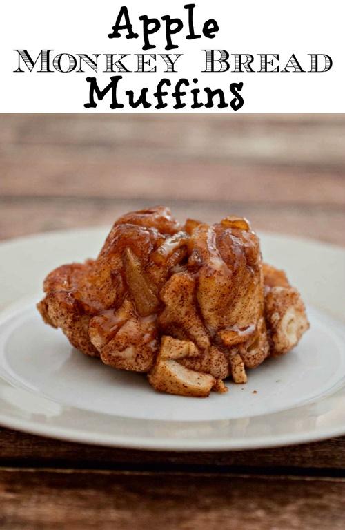 Apple Monkey Bread Muffins from Upstate Ramblings