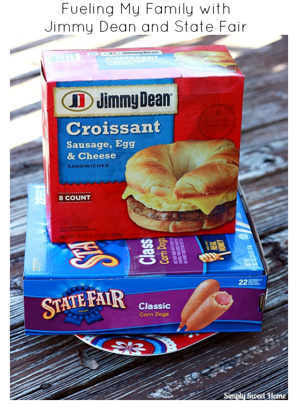 Fueling My Family with Jimmy Dean and State Fair