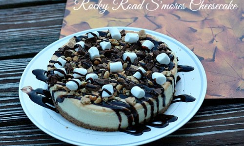 Rocky Road Smores Cheesecake 2