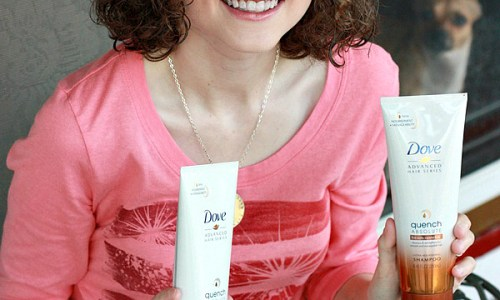 Love Your Curls with Dove