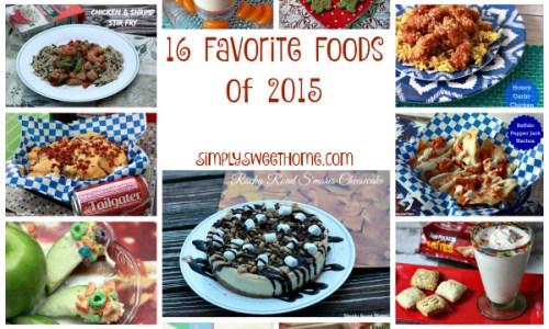 16 Favorite Foods of 2015