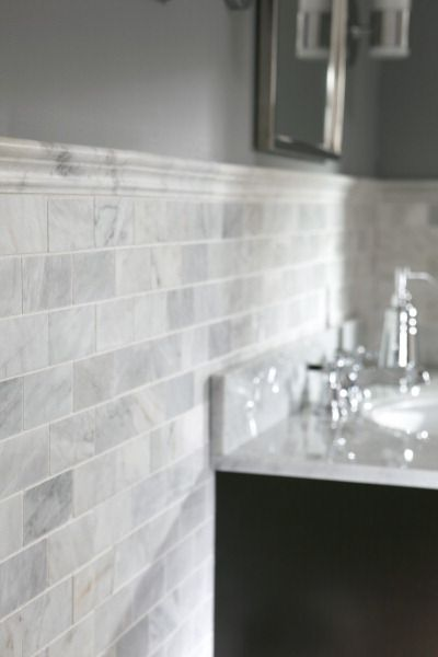 Take a Ride: Backsplash Tile for Your Bathroom (and other bathroom updates)