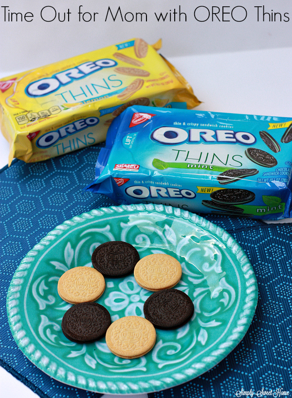 Time Out for Mom with OREO Thins