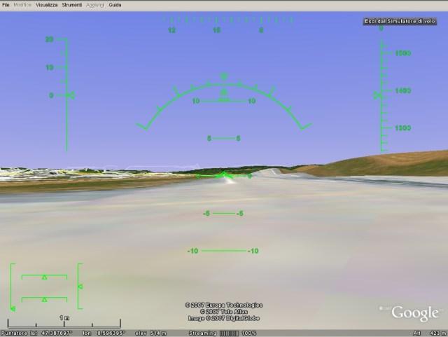 Simulatore di volo online e gratis con google earth for Simulatore di costruzione di case online