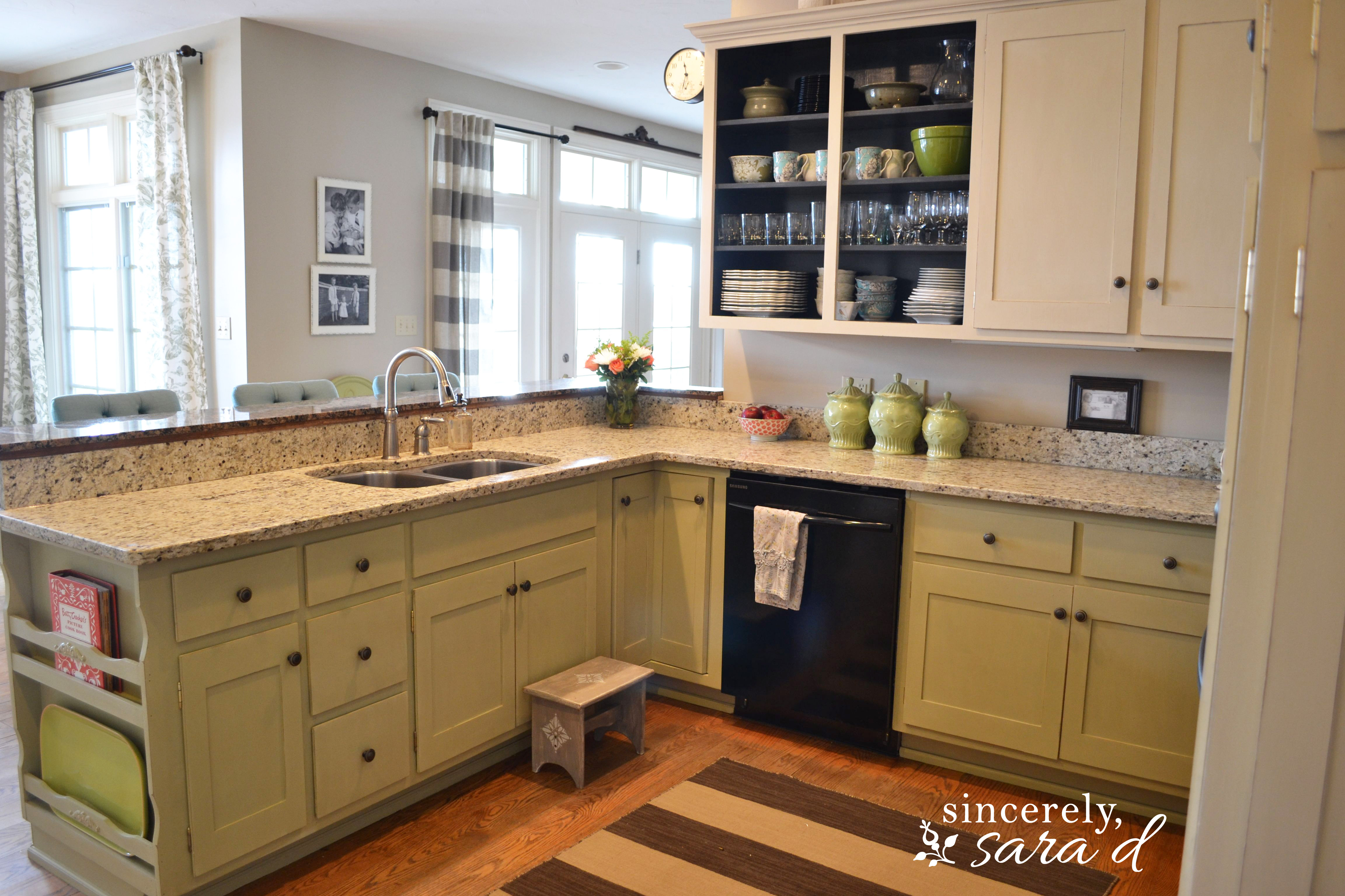Gracious Denver S Kitchen Cabinets Painting Kitchen Cabinets Chalk Paint Update Sara S Kitchen Cabinets Refacing Chalk Paint Update Painting Kitchen Cabinets kitchen Pictures Of Kitchen Cabinets
