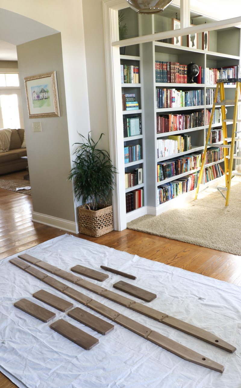 Large Of Rolling Library Ladder