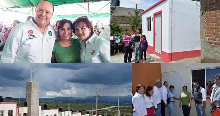 El Gobernador, César Duarte descató en su cuenta de Facebook la visita de la funcionaria federal. Foto: César Duarte, Facebook.