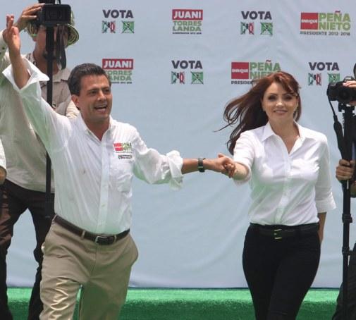 La euforia de la campaña. Foto: Cuartoscuro