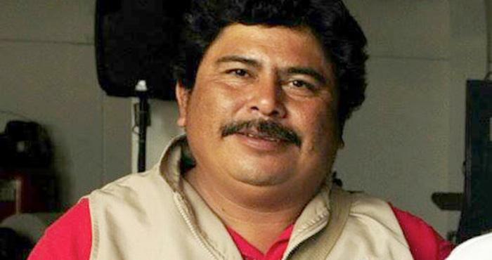 Gregorio Jiménez de la Cruz asesinado en febrero de 2014. Foto: Especial