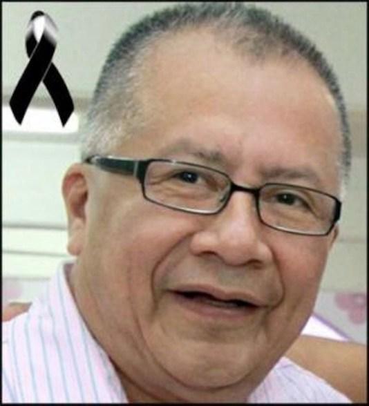 Miguel Ángel López Velasco, asesinado en junio de 2011 en el Puerto de Veracruz, junto a su esposa e hijo. Foto: Especial