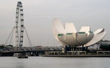 Singapore Flyer & Art Science Museum