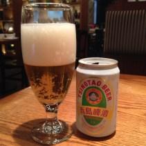 Tsing Tao beer (Chinese beer)