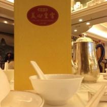 Menu at City Hall Maxim's Palace, Hong Kong