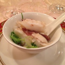 Steamed spotted garoupa with superior soya sauce