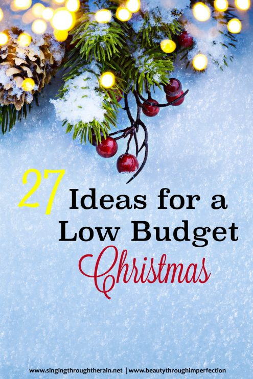 27 Ideas for a Low Budget Christmas
