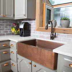 Small Crop Of Copper Farmhouse Sink