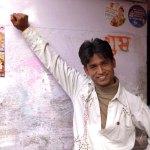 Viaje fotográfico a la India: improvisado estudio fotográfico